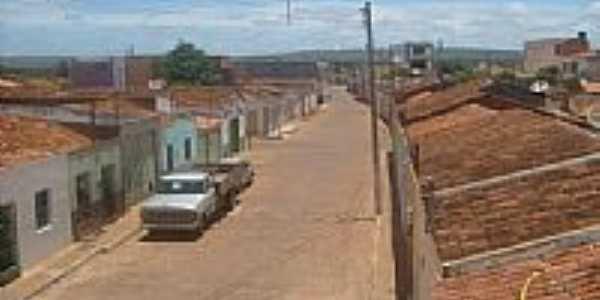 Rua Carlos Xavier em Cafarnaum-BA-Foto:cleristonss