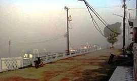 Faro - Faro-PA-Neblina na Orla do Rio Nhamundá-Foto:Zilton Fioravante Filho