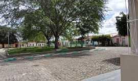 Caiçara - Caiçara-BA-Centro do Povoado e a Praça Principal-Foto:Iba Mendes