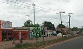 Goianésia do Pará - Avenida de entrada de Goianésia do Pará-PA-Foto:jguedesfotografia