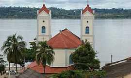 Itaituba - Itaituba-PA-Igreja de Sant´Ana às margens do Rio Tapajós-Foto:José Parente de sousa