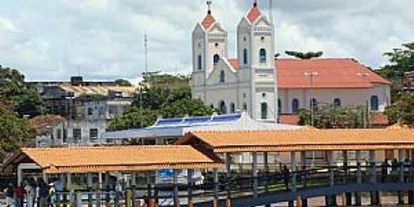 Itaituba-PA-Pier na orla-Foto:Jos� Parente de sousa
