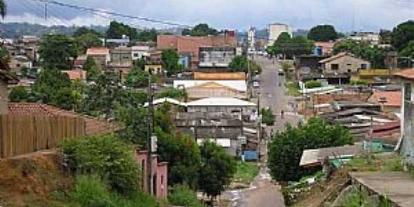 Itaituba-PA-Vista da rua central-Foto:José Parente de sousa