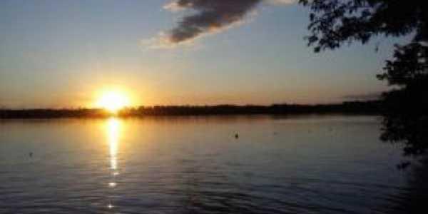 O Pôr do sol em Itupiranga é mágico, Por Joana Darc