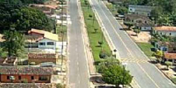 Avenida central em Jambuaçu-PA-Foto:jambuaçu.comunidades.