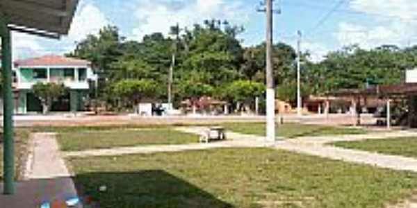 Praça de Jambuaçu-PA-Foto:Renan Henrique-jambuaçu.comunidades.