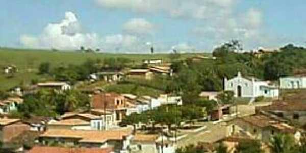 Caiubi-BA-Vista do centro da cidade-Foto:Facebook