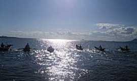 Cajuí - Pescadores no Povoado de Cajuí-BA-Foto:Pedro Enrique