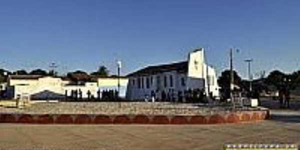 Inauguração da Praça da Matriz de Cajuí-BA-Foto:sentose.