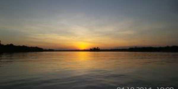Rio Japiim Grande, Limoeiro do Ajuru - PA, Por AILSON SANTANA PINHEIRO