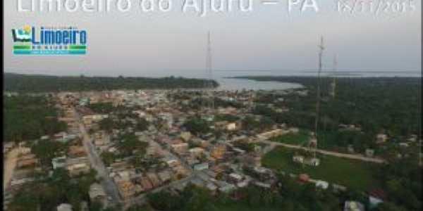 Visão Aérea da Cidade de Limoeiro do Ajuru, Por AILSON SANTANA PINHEIRO