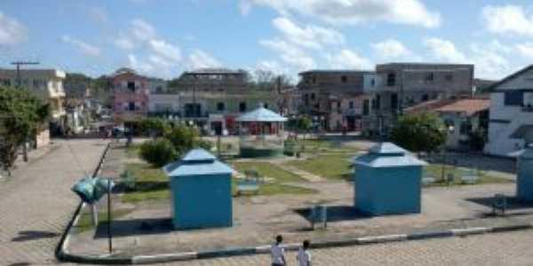 Praça da Bandeira, Limoeiro do Ajuru - PA, Por AILSON SANTANA PINHEIRO