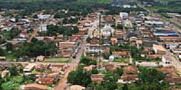 Vista aérea de Mãe do Rio-Foto:Wagleu