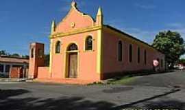Magalhães Barata - Igreja Matriz de N.Sra.de Nazaré em Magalhães Barata-Foto:Carlos Fernando Mace…