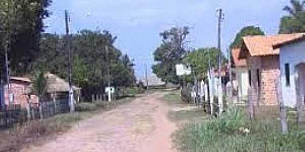 Maracanã-PA-Rua da Vila do Penha-Foto:todasaspraiasdobrasil.blogspot.com