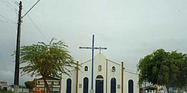Caldas do Jorro-BA-Igreja de N.Sra.das Graças-Foto:Jorge Hirata