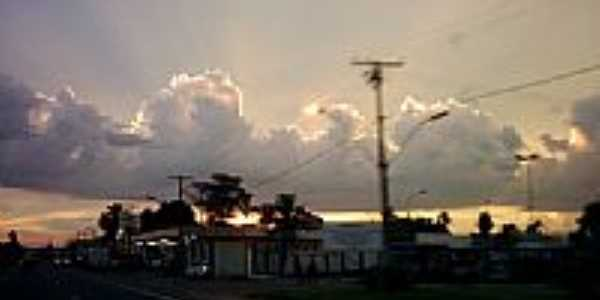 Pôr do Sol em Marituba-Foto:Reginaldo Abreu