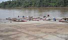 Meruú - Barcos de frete em Meruú-Foto:isqueira