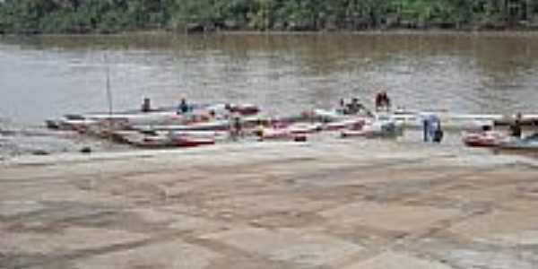 Barcos de frete em Meruú-Foto:isqueira