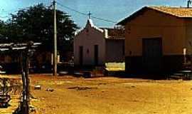 Caldeirão - Igreja em Caldeirão-BA-Foto:Alberto Alves