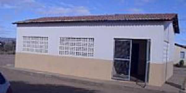 Escola Municipal Rui Barbosa em Caldeirão-BA-Foto:Tarlis