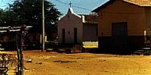Igreja em Caldeirão-BA-Foto:Alberto Alves