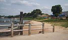 Mocajuba - Orla do Rio Tocantins em Mocajuba-PA-Foto:Carlos Fernando Mace�