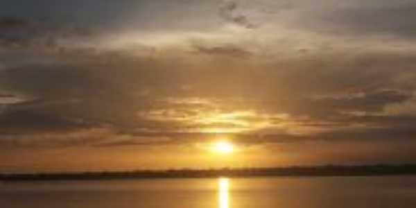 Pôr do sol em Mocajuba, Por Cris Pinheiro