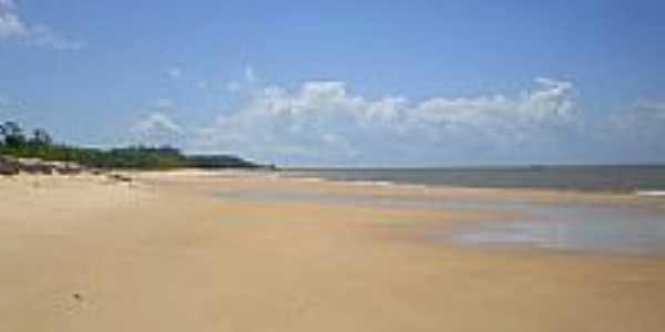 Praia na Vila de Monsaras-Foto:Odilson Sá
