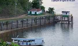 Monte Dourado - Monte Dourado-PA-Captação de água do Rio Jari-Foto:Heraldo Amoras