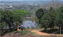 Monte Dourado - Monte Dourado-PA-Rua 94, Rio Jari e a cidade-Foto:Heraldo Amoras