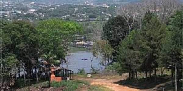 Monte Dourado-PA-Rua 94, Rio Jari e a cidade-Foto:Heraldo Amoras