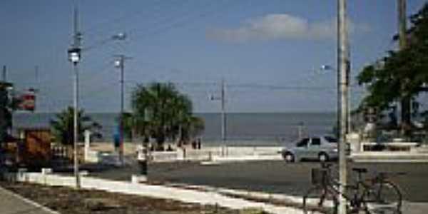 Orla da Praia do Bispo em Mosqueiro-PA-Foto:Odilson Sá