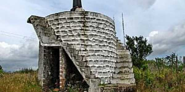 Boca da Mata-AL-Monumento ao Padre C�cero-Foto:Ben�cio Monte