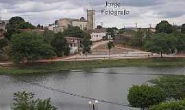 Caldeirão Grande - Caldeirão Grande-BA-Lagoa e vista da cidade-Foto:www.flickr.com