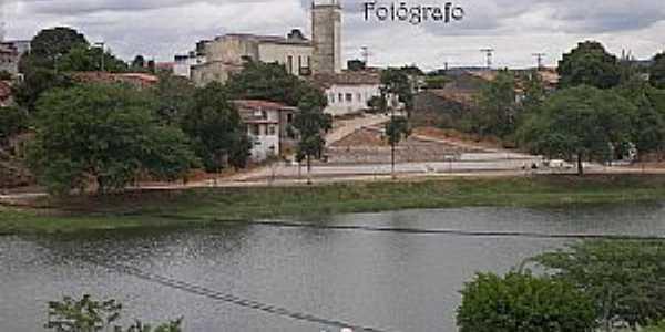 Caldeirão Grande-BA-Lagoa e vista da cidade-Foto:www.flickr.com