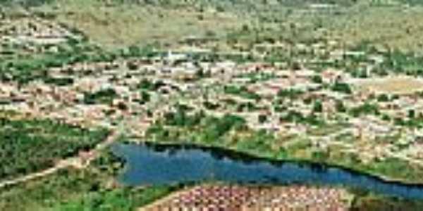 Caldeirão Grande-BA-Vista aérea da região-Foto:jorgemacedo.webnode.com.br