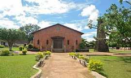 Mojuí dos Campos - Mojuí dos Campos-PA-Praça e Igreja de Santo Antônio-Foto:Leandro Durães