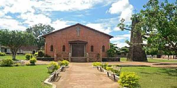 Mojuí dos Campos-PA-Praça e Igreja de Santo Antônio-Foto:Leandro Durães