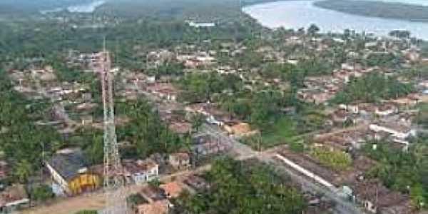 Mojuí dos Campos-PA-Vista aérea-Foto:Paulo Roberto Área