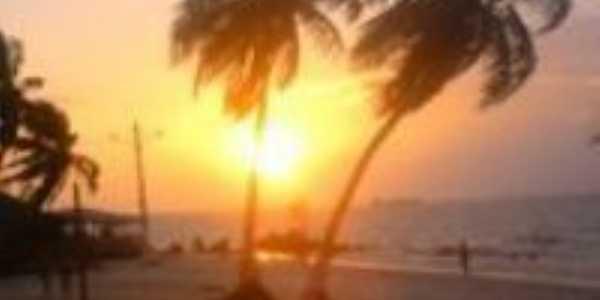 Por do sol na Praia, Por Romulo Ribeiro Filgueira