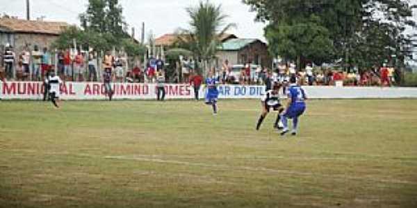 Campo de Futebol na Vila de Murumuru - PA