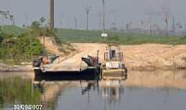 Novo Progresso - Balsa do Rio Jamanxim em Novo Progresso-PA-Foto:CICLO MANIA Novo Pro…