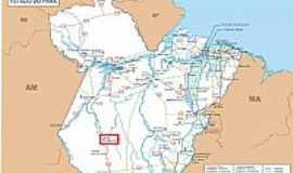 Novo Progresso - Mapa de Localização - Novo Progresso-PA