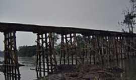Novo Progresso - Ponte sobre o Rio Jamanxim em Novo Progresso-PA-Foto:CICLO MANIA Novo Pro…