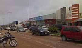 Novo Progresso - Rua central de Novo Progresso-PA-Foto:gelsojunior