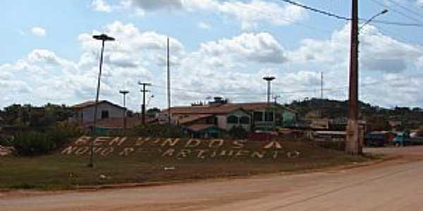 Novo Repartimento-PA-Trevo de acesso-Foto:Dalcio e marilda jabuti motor home