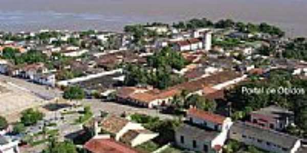 Vista da cidade de Óbidos-PA-Foto:Jairo Vieira