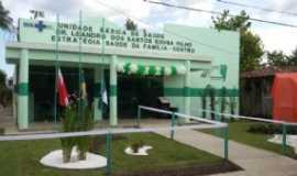 Oeiras do Pará - Nova Unidade Básica Dr. Leandro - Por Linda Oeirasdopara
