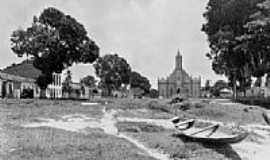 Ourém - Imagem do início da década de 60 em Ourém-PA-Foto:Odilson Sá